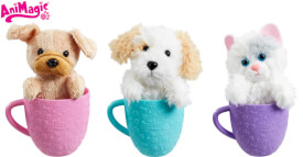 Animagic Tea Cup Pets, sortiert