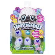 Hatchimal Colleggtibles 4er Pack + Bonus