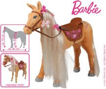 Barbie -Pferd Tawny braun mit Sound