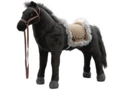 Pferd mit Sound schwarz