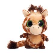 Plüschfigur Giraffe braun
