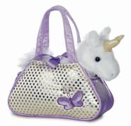 Fancy Pal Unicorn Purple 8In