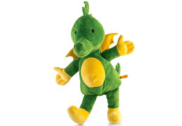 Steiff Tabaluga Drache, grün, 55 cm