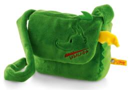 Steiff Tabaluga Tasche, grün, 19 cm