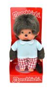 Monchichi Red Checker Boy, ca. 20 cm