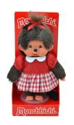 Monchhichi Red Checker Girl, ca. 20