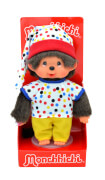 Monchhichi Colorful Boy, ca. 20 cm
