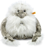 Steiff Nrommi Yeti, weiß/grau gespitzt, stehend, 25 cm