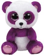 TY Boom Boom,Panda violet/weiss 24cm