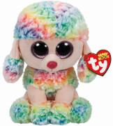 TY Beanie Boo's- Pudel, Rainbow, Plüsch, ca. 72 cm