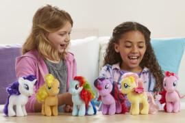 Hasbro E0032EU5 My Little Pony - Mähnenspaß Plüschponys, ca. 16 cm, ab 3 Jahren