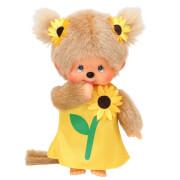 Monchhichi Sonnenblumen-Mädchen, ca.20 cm