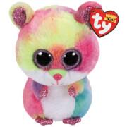TY Beanie Boo's - Hamster Rodney, Plüsch, ca. 7x6x15 cm