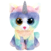 TY HEATHER CAT WITH HORN - BEANIE BOOS