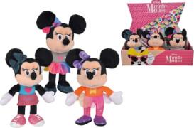 Nicotoy Disney Minnie Fashion, 20cm, 3-sortiert.
