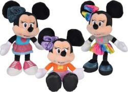 Simba Nicotoy Disney Minnie Fashion, 25cm, 3-sortiert.