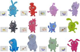 Hasbro E4526EU4 UglyDolls Überraschungs-Uglys Minifiguren Serie Eins, vier Accessoires