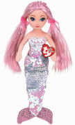 TY CORA PINK SEQUIN MERMAID MED