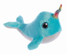 Sparkle Tales Coral Narwhal 7In
