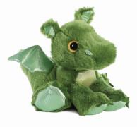 Sparkle Tales Roar Green Dragon 12In