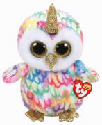 TY ENCHANTED OWL W/HORN - BOO MED
