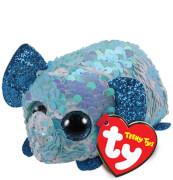 TY STUART ELEPHANT FLIPPABLE TEENY TY