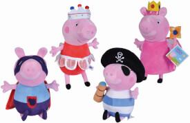 Peppa Pig Plüsch Kostümfreunde, 4-sortiert.