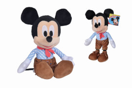 Nicotoy Disney Lederhosen Mickey, NEW, 25cm