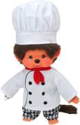 Monchhichi Chef Koch Boy, ca. 20cm