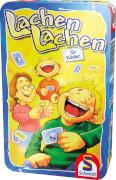 Schmidt Spiele Lachen lachen Mitbringspiel in der Metalldose