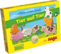 HABA - Meine ersten Spiele-Tier auf Tier, für 1-4 Spieler, ab 2 Jahren