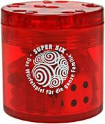 Piatnik Super Six Würfelspiel Kunststoff rot