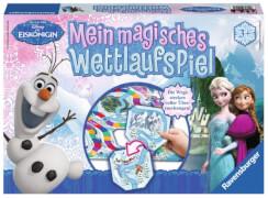 Ravensburger 211579  Disney Frozen - Die Eiskönigin Mein magisches Wettlaufspiel, Kinderspiel