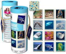 WWF Memory Meerestiere (24 Holzteile)
