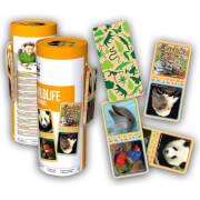 WWF Domino Wildtiere (28 Holzteile)