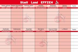Teepe Sportverlag 1. FC Köln Stadt Land Effzeh