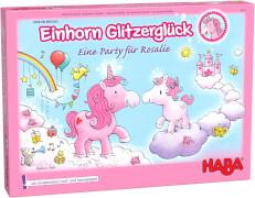 HABA - Einhorn Glitzerglück - Eine Party für Rosalie, für 2-4 Spieler, ca. 15 min, ab 4 Jahren