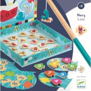 Holz Lernspiele: Navy loto *