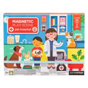 Petitcollage - Magnetspiel Tierklinik