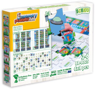 BioBUDDI Puzzle & Memory 2 in 1 Stadt