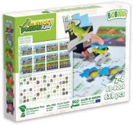BioBUDDI Puzzle & Memory 2 in 1 Dinosaurier