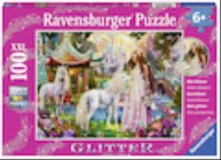 Ravensburger 13617 Puzzle Im Reich der Blütenkönigin, 100 Teile XXL