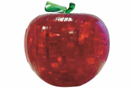3D Crystal Puzzle - Apfel 44 Teile