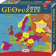 AMIGO 00380 Geo Puzzle Europa
