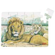 GoKi Minipuzzle Wilde Tiere