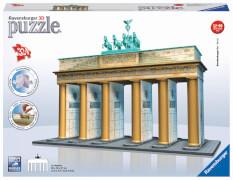 Ravensburger 12551 Puzzle 3D Brandenburger Tor 324 Teile
