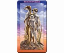 Piatnik 53114 3D Magna Puzzle Erdmännchen 32 Teile