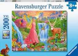 Ravensburger 12624 Puzzle Magischer Feenzauber200 Teile XXL