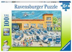 Ravensburger 10867 Puzzle Polizeirevier 100 Teile