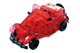 3D-Puzzle Crystal Oldtimer rot, 53Teile